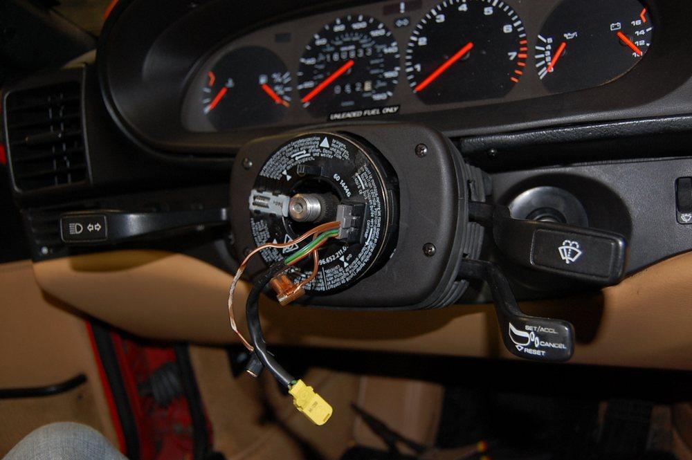 Retrofitting an OEM Steering Wheel to the 968 - Rennlist - Porsche