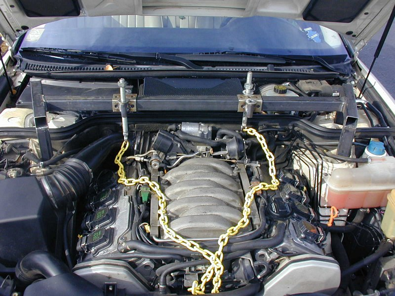 Audi area: Audi A8 Transmission Removal and Replacement