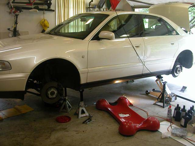 Audipages A8 Automatic Transmission Servicing