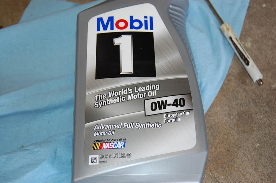 Mobil 1 Oil Filter >> audipages Oil Change on the 5.2 V10 D3 S8 Engine