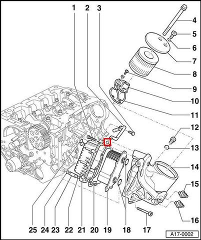 How To Install An Oil Cooler On Audi A8 on 2004 audi a4 parts diagram