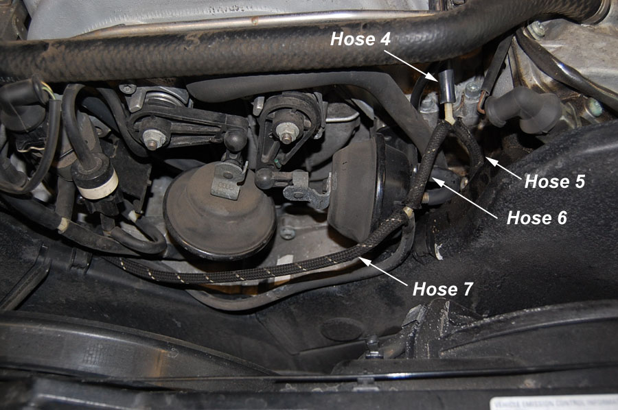 audipages 40 Valve Vacuum Hose Replacement on