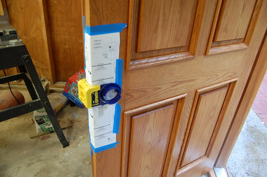 How to attach door to rough opening fine homebuilding for 12 foot garage door rough opening