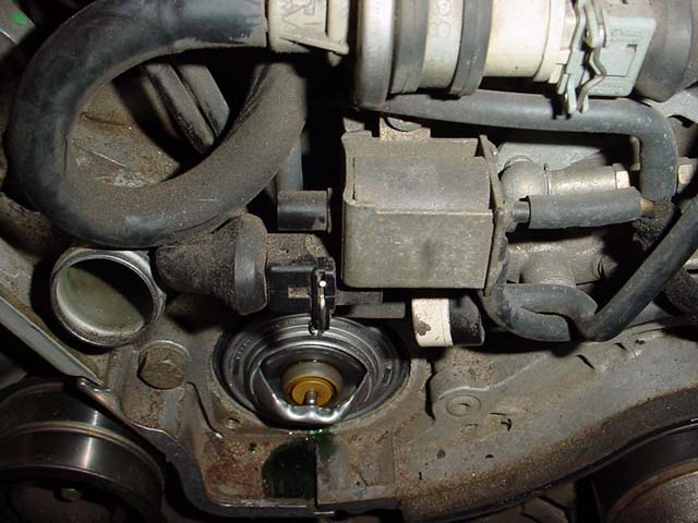 Audi a4 thermostat problems