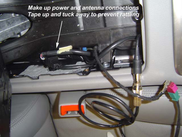 Audipages Installing A Bluetooth Hands Free Kit In An Audi D3 A8