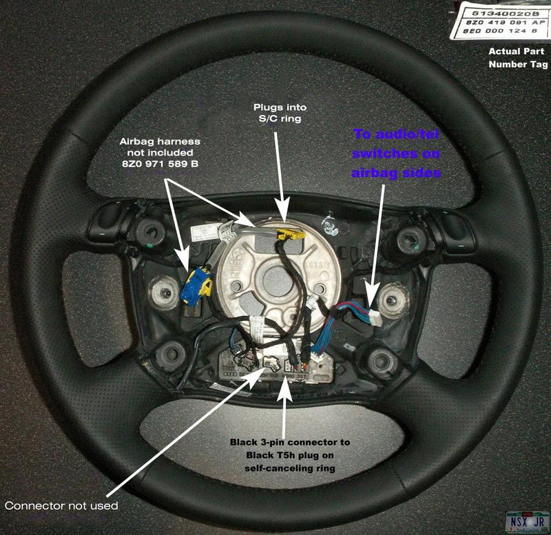 2003 Audi A6 Steering Column Wiring - WIRE Center •