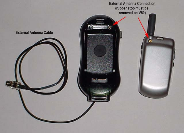 audipages motorola v60 hands kit installation v60 phone and cradle included kit the rubber stop from the back of the phone must be removed to allow for proper fit in the cradle and to activate the